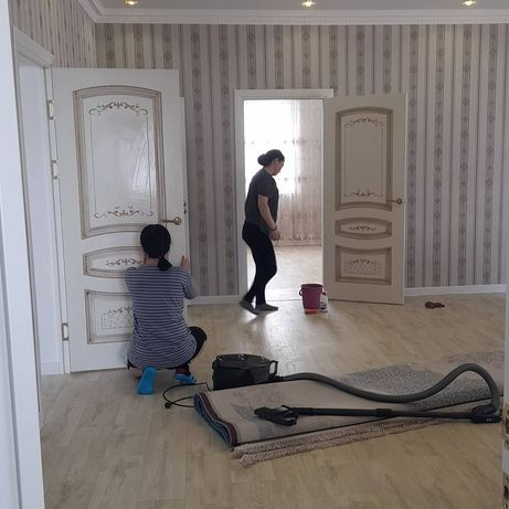 Уборка квартир домов Алматы недорого