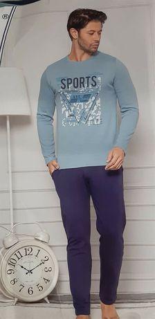 Мъжки пижами плътна, еластична материя