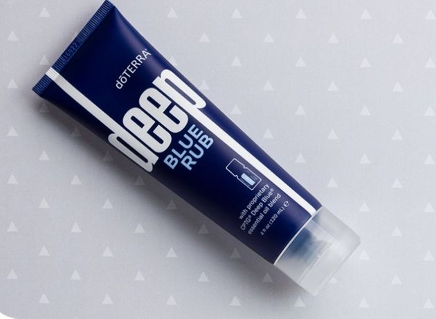 Crema deep blue rub