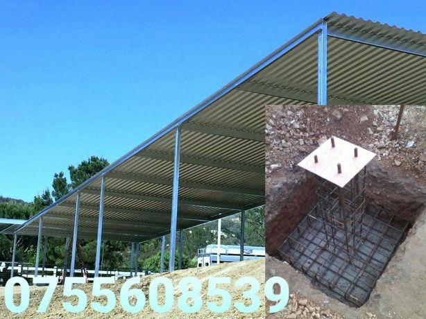 Vand hale metalice 10x25x4 oferim garantie si certificat de calitate