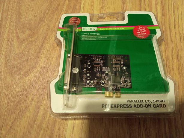 Placa PCIE - port paralel DB25