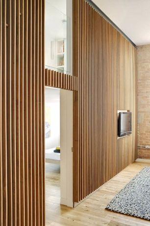 Pereti decorativi, pereti compartimentare - din lemn masiv