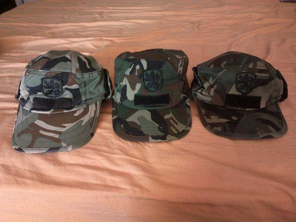 Камуфлажни шапки-зимни (полева)