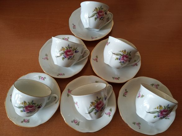 Чешки сервиз за кафе и чай.