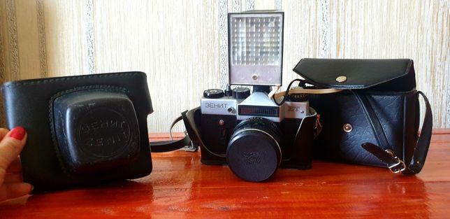Фотоаппарат Зенит СССР, приборы для печати фото