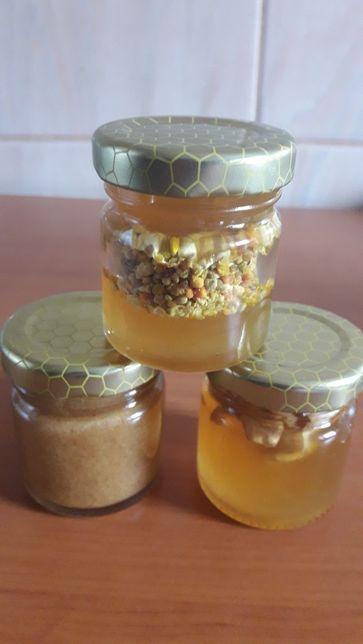 Miere cu propolis, polen,nuca