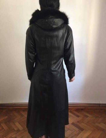 Palton din piele naturală damă
