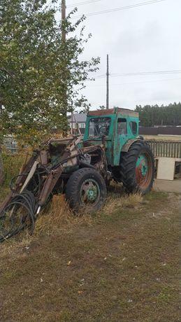 Трактор т40 на ходу