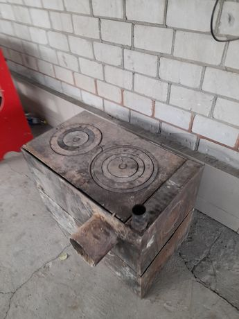 печка в хорошем состоянии
