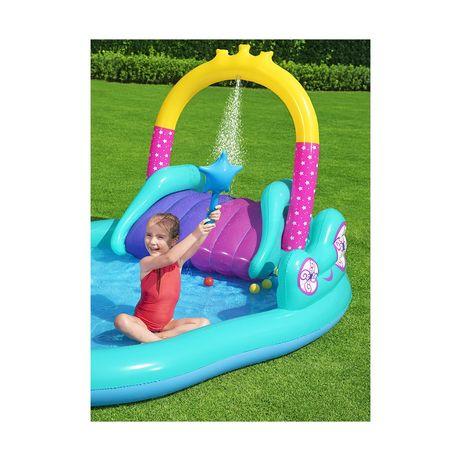Детский бассейн горка