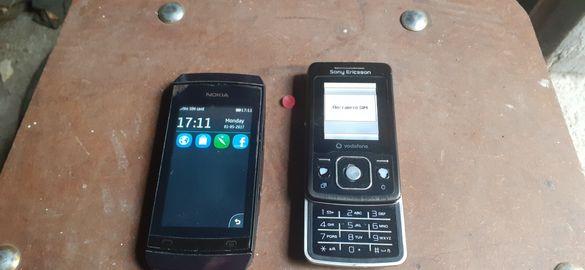 Nokia Asha и Sony Ericsson