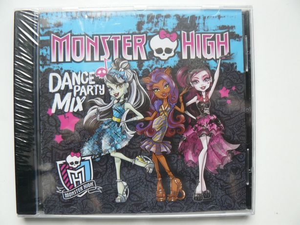 CD Compilatie MONSTER HIGH - DANCE PARTY MIX, Original, Nou, Sigilat,