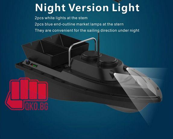 лодка за захранка с възможност за монтаж на GPS  модел 2020 Flytec
