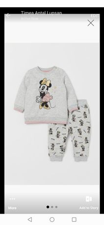 Trening Minnie Mouse, H&M