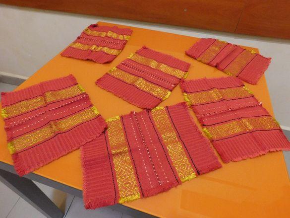 Платнени салфетки за маса - НОВИ