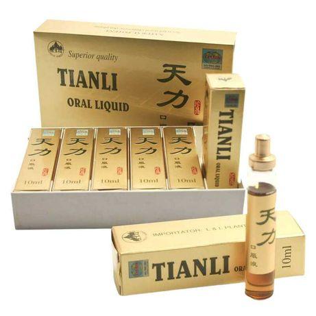 Tianli 6 fiole, 10ml, supliment natural pentru Potenta si Erectie