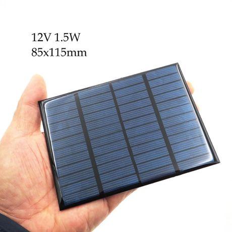 Mini PANOU SOLAR fotovoltaic PANOURI celule SOLARE fotovoltaice 12V 6V