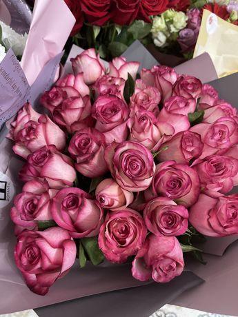 Свежие букеты, цветы по Три тысячи