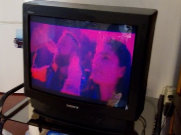 """Телевизор SONY Trinitron 21"""" 52 см диагонал - Работещ"""
