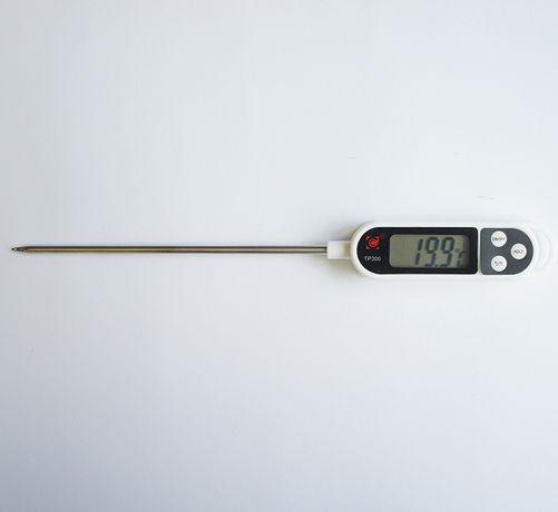 Термометър за храни и течности тип шило с голям дисплей -50°C до 300°C