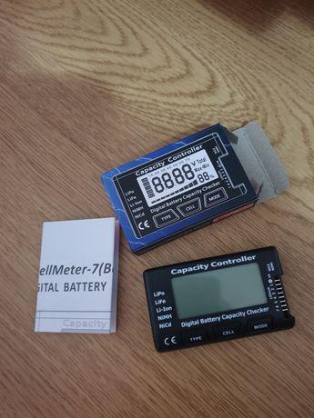 Verificator baterie NiCd / NIMH, Li-Po, LiFe, Li-Ion