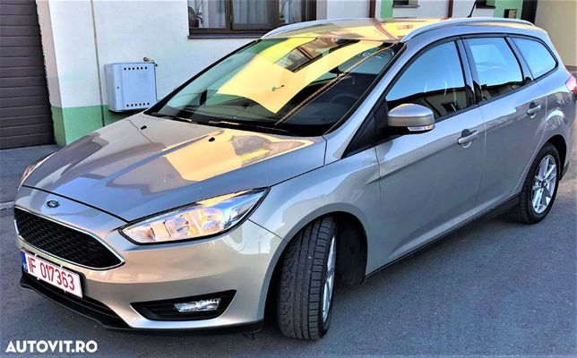 Ford Focus SW 1,5 TDCI, Navi, automata, inmatriculata, TVA deductibil