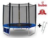 Buba Детски батут 8FT (252 см) с мрежа и стълба