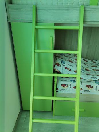 Vand ansamblu 3 paturi suprapuse copii Mobexpert