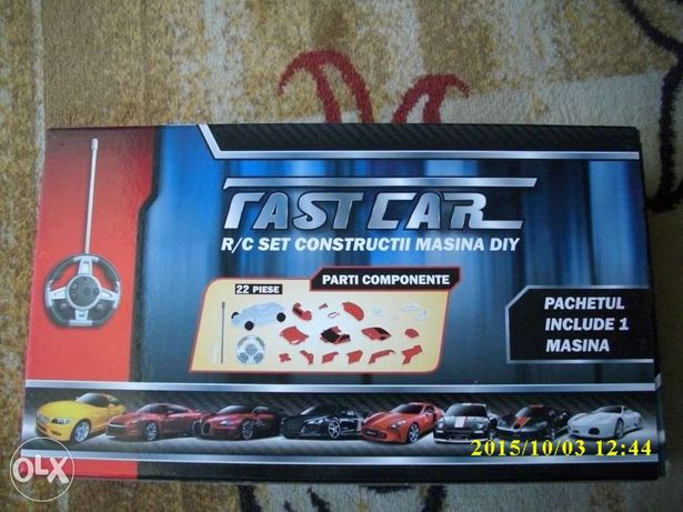 Joc constructii auto cu radio comanda