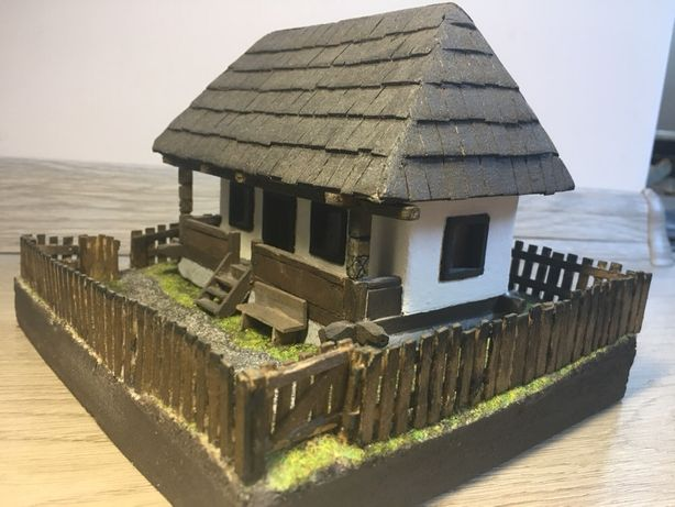 Macheta casa tradiționala din lemn -la comanda