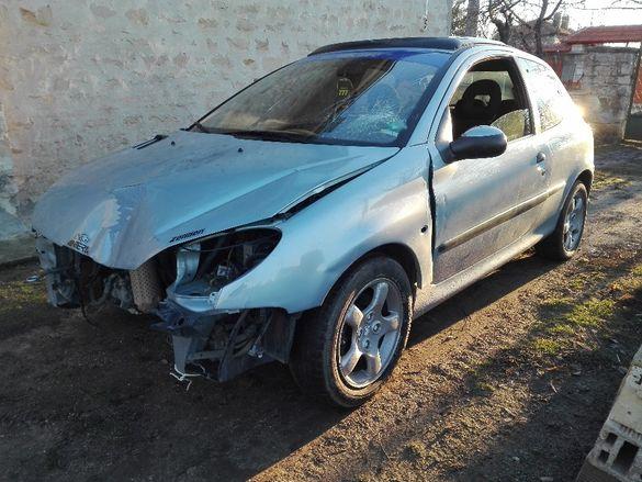 Peugeot 206 1.6 16V НА ЧАСТИ!!!