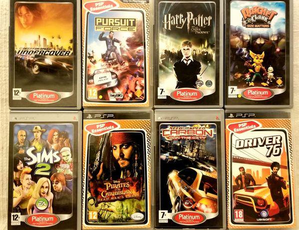 Jocuri originale PSP - 3+1gratis