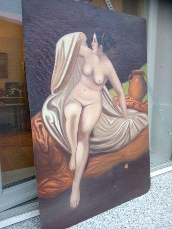 Pictura  nud 1973 semnat