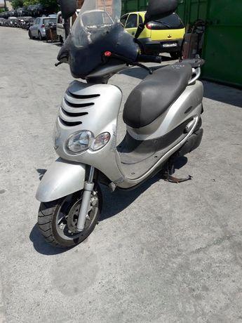Скутер МБК 125 Доодо(Mbk 125 Doodo)-на части