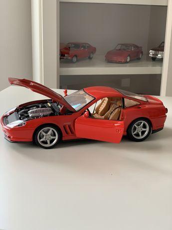 Vand Ferrari 550 maranello 1/18 macheta metal