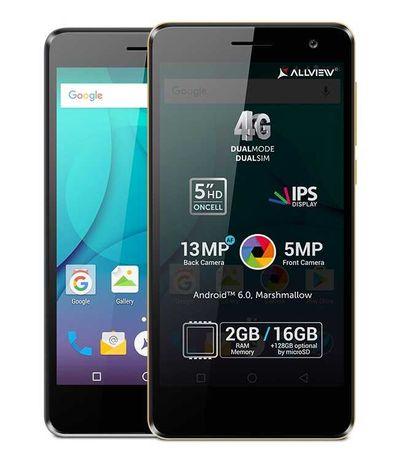 Telefon Mobil Allview P8 Life - Smartphone 4G Dual SIM, 16GB, 13MP NOU