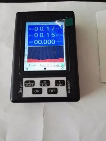 Детектор за измерване радиация гамафон Гайгер Мюлеров брояч, дозиметър