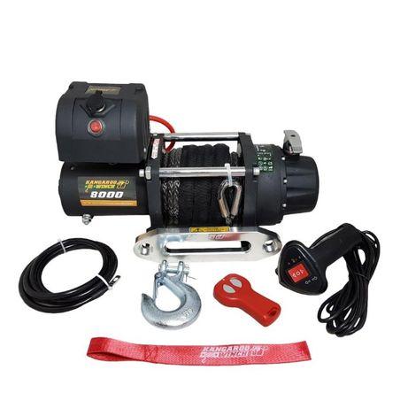 Лебедка KangaroWinch (PowerWinch) Compact синтетично въже 8000lb - 362