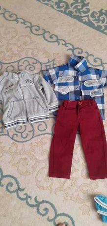 Продам детскую одежду дешево на мальчиков