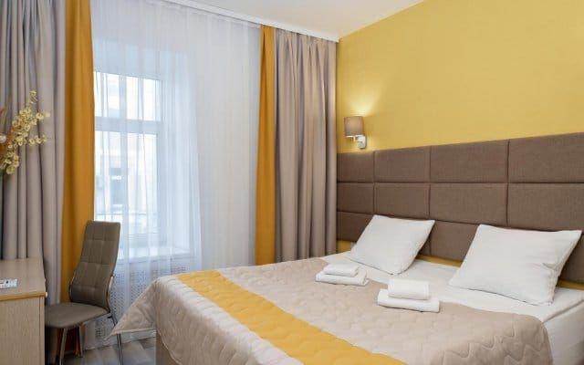 Уютная однокомнатная квартира, от вокзала 5 до Меги 11минут езды.