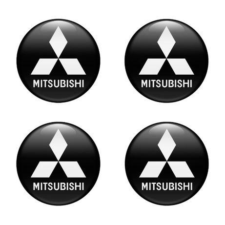 \Силиконови стикери за капачки на джанти Мицубиши/MITSUBISHI 40-120 м