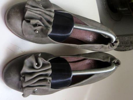 Обувки VERO CUOIO,Think!- естествена кожа , обувки на цветя