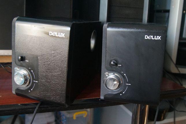 Ocazie ! Doua buc. subwoofer DELUX DLS-2155 SILVER-BLACK