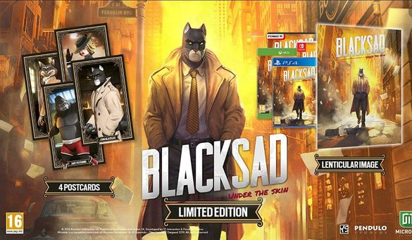 [ps4]! Най-ниска цена! BLACKSAD: Under the Skin LIMITED ed./НОВИ