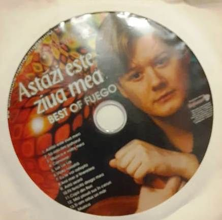 CD Fuego - Astazi este ziua mea. Best of Fuego