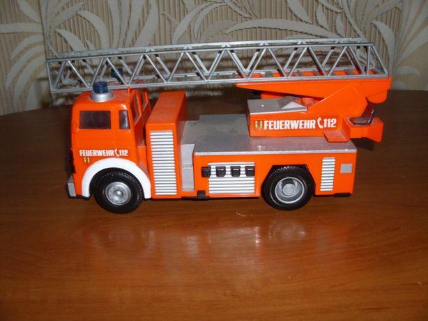 Jucarie MACARA de pompieri (cu baterii)