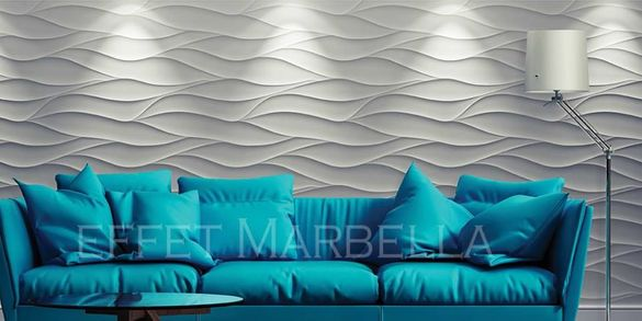 3Д гипсови панели, декорации и облицовки за стена / пана / № 0061