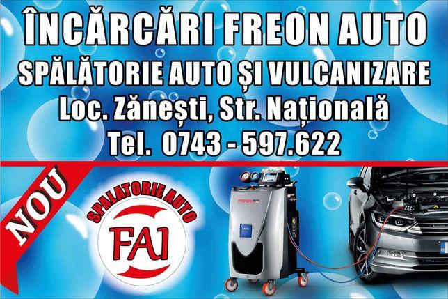 Incarcare freon  aer conditionat autoturisme tir utilaje autocare