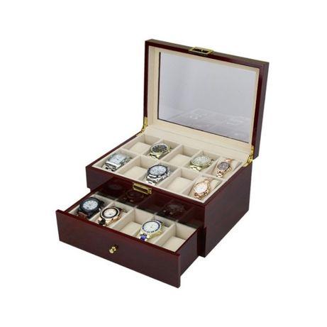 Cutie Pentru Depozitarea Ceasurilor Din Lemn 6 10 12 20 spatii
