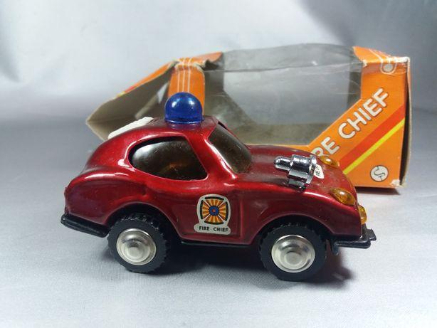 Maşină de tablă macheta de colecție original Fire Chef